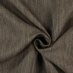 Silent - Walnut - Brown and cream coloured streaked, woven fabric which is hard wearing