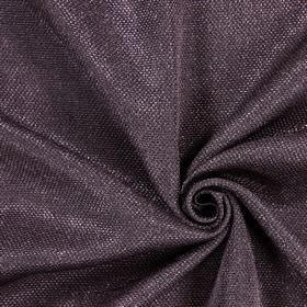 Night Time - Damson - Hard wearing fabric which has been woven with thick dark brown and light pink-white threads