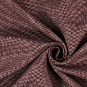 Silent - Mulberry - Hard wearing fabric woven in dark brown and light pink