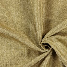 Moonbeam - Bronze - Fabric which has been woven from gold and cream coloured hard wearing threads