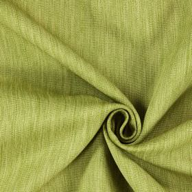Moonlight - Evergreen - Light green and cream coloured streaked fabric of the hard wearing variety