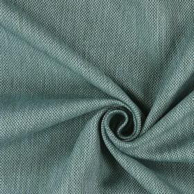 Silent - Marine - Green and very light blue coloured fabric which has been woven using hard wearing threads