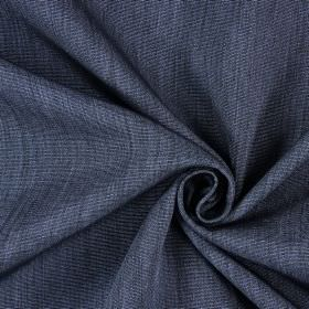 Sweet Dreams - Cobalt - Dark blue-black coloured hard wearing fabric which has horizontal ridges and some white highlights