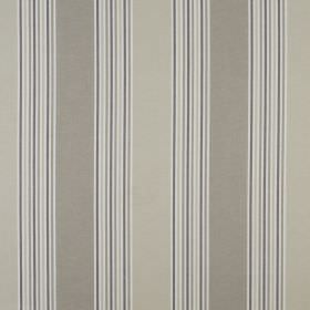 Elderberry - Praline - Striped 100% cotton fabric featuring a repeated design with some narrow and some wide bands in various shades of grey