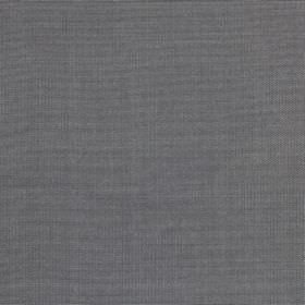 Ottoman - Steel - Unpatterned battleship grey coloured 100% silk fabric