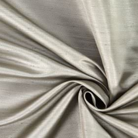 Opulent - Fawn - Hard wearing fabric in very pale grey-white, with some slightly raised horizontal threads