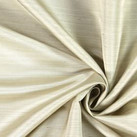 Opulent - Champagne - Plain white hard wearing fabric where some of the horizontal threads are slightly raised