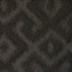 Cabrillo - Platinum - Platinum black fabric with modern line pattern