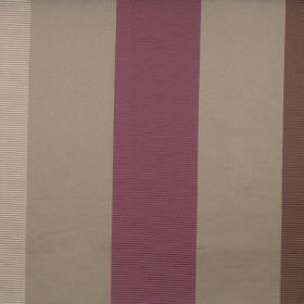 Dapper - Dubarry - Dubarry purple and light brown striped fabric