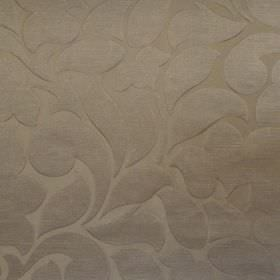 Debut - Mimosa - Mimosa yellow fabric with a classic foliage pattern