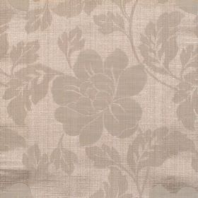 Flores - Linen - Linen coloured floral pattern and fabric