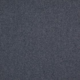 Finlay - Denim - Subtle light grey coloured patches patterning fabric made from dark navy blue coloured 100% polyester