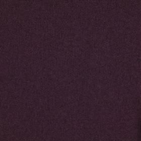 Finlay - Aubergine - 100% polyester fabric made in a plain, very dark, indulgent shade of purple