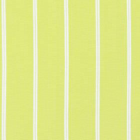 Cameo - Lime - Lime green fabric with thin white vertical stripes