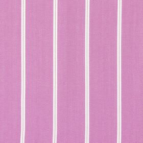 Cameo - Amethyst - Amethyst purple fabric with thin white vertical stripes