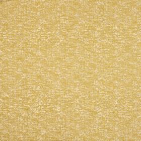 Jupiter - Citron - Soft, subtle white patches covering a warm, light gold coloured cotton and polyester blend fabric background