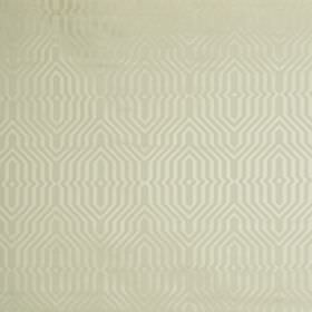 Mercury - Oyster - Two similar light shades of grey making up a subtle, elegant geometric pattern on fabric made from cotton and polyester