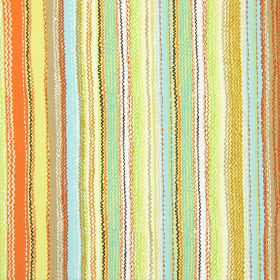 Tanglewood - Marmalade - Modern fabric with marmalade multicoloured stripes and wavy lines