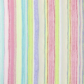 Tanglewood - Rose - Modern fabric with rose multicoloured stripes and wavy lines