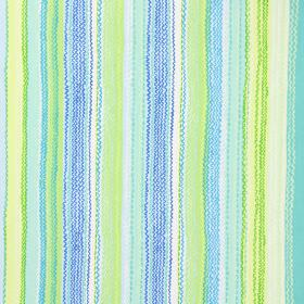 Tanglewood - Sky - Modern fabric with sky blue multicoloured stripes and wavy lines