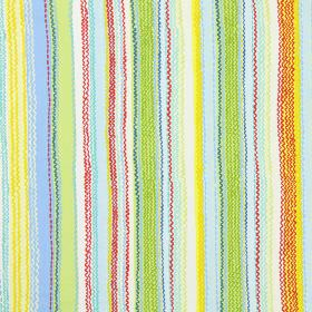 Tanglewood - Summer - Modern fabric with summer multicoloured stripes and wavy lines