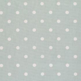 Full Stop - Smoke - Pale grey fabric with white spots