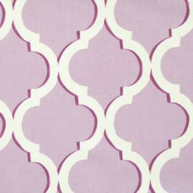 Avebury - Lavender - Lavender purple fabric with classic decorative pattern