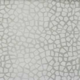 Lizzie - Stone - Stone grey fabric with mosaic pattern