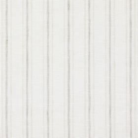 Andes - Parchment - Repeated pale grey and light brown stripes on an off-white background made from linen, cotton and polyester