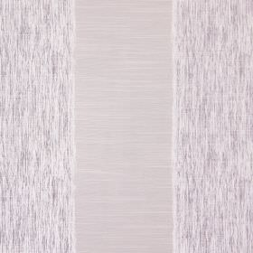 Capulet - Lavender - Cotton fabric featuring a striped design in beige and streaked silvery white
