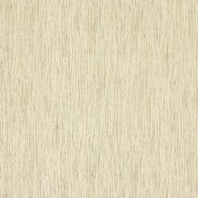 Beauvoir - Eucalyptus - White and pale green coloured cotton fabric which features small, vertical streaks