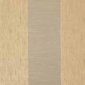 Capulet - Sienna - Grey and gold coloured stripes as a pattern for this fabric made from cotton