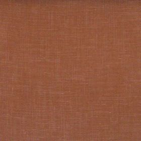 Glaze - Terracotta - Plain terracotta red fabric