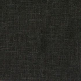 Glaze - Ebony - Plain ebony black fabric