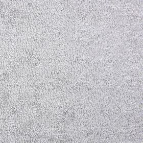 Bexley - Silver - White and silver coloured polyester fabric with a speckled effect