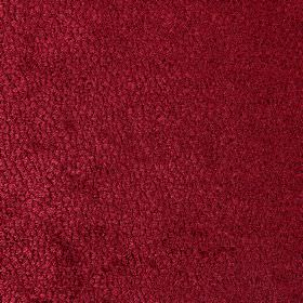Bexley - Bordeaux - Ruby red coloured fabric made from speckled polyester
