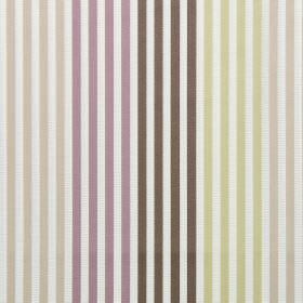 Freeway - Lavender - Lavender purple and yellow striped fabric