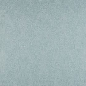 Cherish - Seafoam - Light duck egg blue coloured 100% cotton fabric covered with a very ornate but subtle pattern