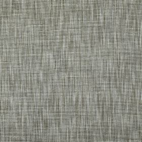 Hawes - Limestone - Horizontal and vertical streaks patterning contemporary polyester and viscose blend fabric in black, white and grey shades