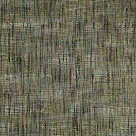 Hawes - Fern - Black, light grey, green-grey and white coloured horizontal and vertical streaks covering polyester and viscose fabric
