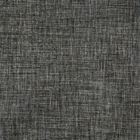 Hawes - Charcoal - Polyester and viscose blend fabric made in light and dark shades of grey, featuring a streaky, patchy finish