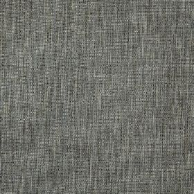 Hawes - Pebble - Various light and dark shades of grey making up a horizontal and vertical streak effect on polyester and viscose fabric