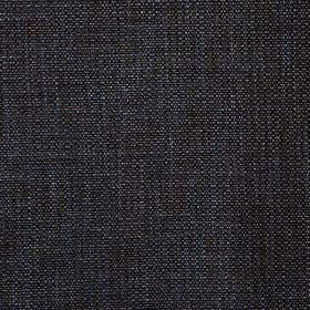 Malton - Earth - Polyester and viscose blend fabric made in coal black, woven with a few subtle light grey coloured threads