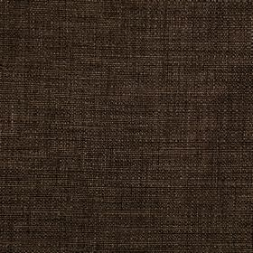Malton - Bracken - A few lighter threads creating subtle streaks running through dark chocolate brown coloured polyester and viscose fabric