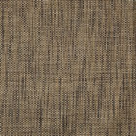 Malton - Sandstone - Coffee coloured polyester and viscose blend fabric woven with a streaky effect using threads in white and black