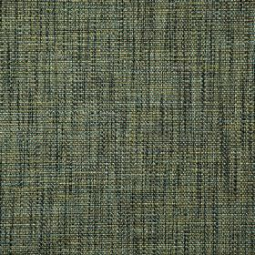 Malton - Fern - Dark grey, olive green and blue-grey coloured threads woven into a contemporary, streaky polyester and viscose fabric