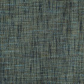 Malton - Topaz - Light and dark shades of blue and grey making up a contemporary streaky effect on fabric woven from polyester and viscose