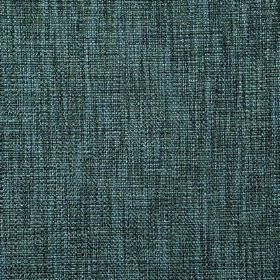 Malton - Marine - Polyester and viscose woven together into a streaky fabric in charcoal and bright sky blue colours