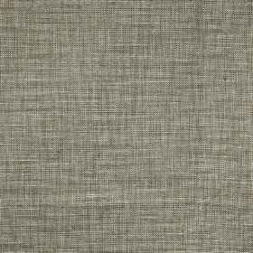 Hawes - Flax - White and light shades of steel grey making up a streaky effect on fabric made from polyester and viscose