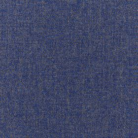 Harrison - Loch - Light grey and Royal blue coloured speckled 100% polyester fabric